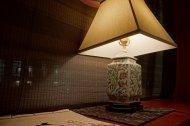 lampa na stoliku