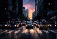 fototapeta z miastem