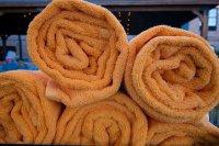 Pomarańczowe ręczniki
