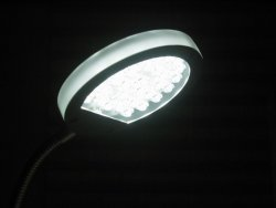Lampa z diodami Led